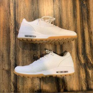 Nike Shoes Air Max 1 Golf White Gum Poshmark